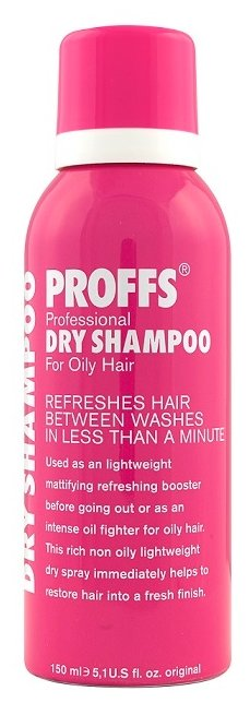 Сухой шампунь PROFFS For Oily Hair, 150 мл