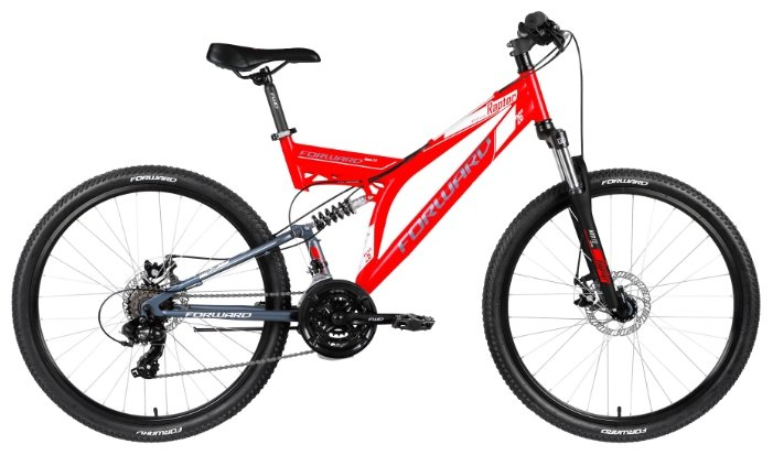 Горный (MTB) велосипед FORWARD Raptor 26 2.0 Disc (2018)