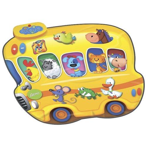 Купить Музыкальный коврик Знаток Автобус-Зоопарк и Человек-Оркестр (SLW9821), Игровые коврики