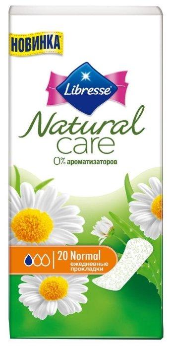 Ежедневные прокладки Libresse Natural Care Normal, 20 шт