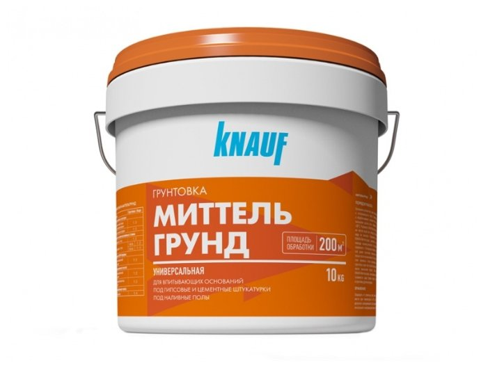 Грунтовка KNAUF Миттельгрунд (10 кг)