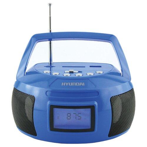 Магнитола Hyundai H-PAS140/H-PAS160 синий