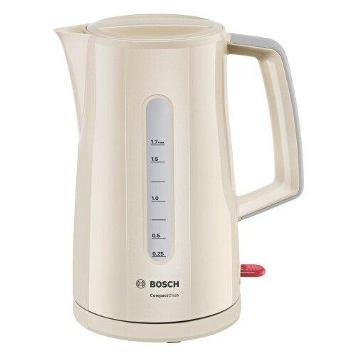 Фото - Чайник Bosch TWK 3A017, бежевый чайник bosch twk 3a017