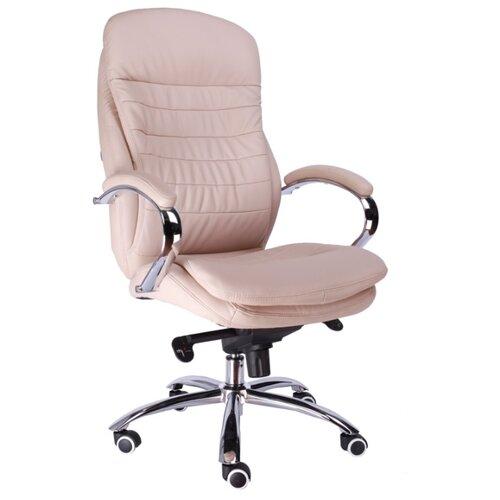 Компьютерное кресло Everprof Valencia M для руководителя, обивка: искусственная кожа, цвет: бежевый