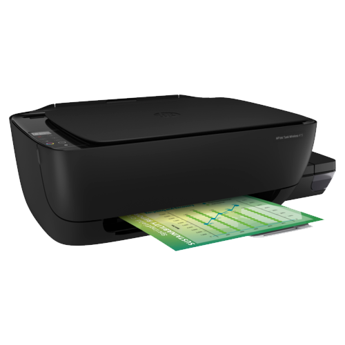 Фото - МФУ HP Ink Tank Wireless 415, черный принтер hp ink tank 115 черный