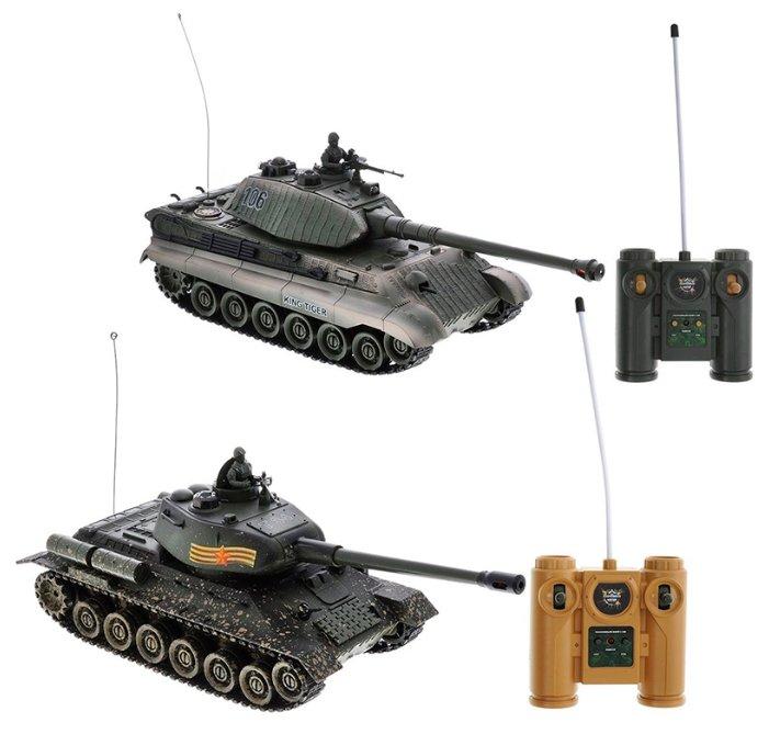 Набор техники Пламенный мотор Танковый бой (870164) 26 см