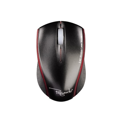 Мышь HAMA Wireless Laser Mouse Pequento 2 Black-Red USB