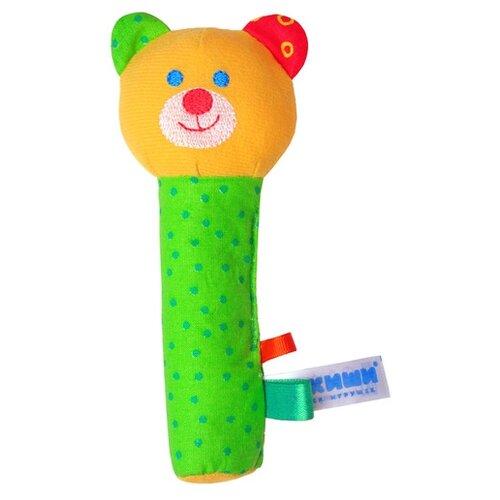 Купить Погремушка Мякиши Мишка 281 зеленый, Погремушки и прорезыватели