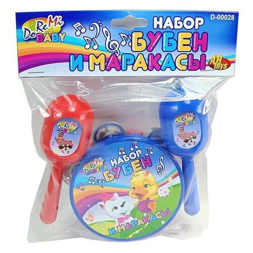 Купить DoReMi набор инструментов D-00049/D-00028 синий/красный, Детские музыкальные инструменты
