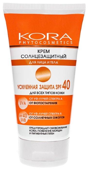 Kora Крем солнцезащитный SPF 40