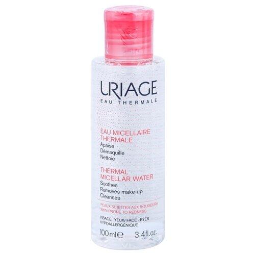 Uriage мицеллярная вода очищающая для чувствительной, склонной к покраснению кожи, 100 мл uriage мицеллярная вода очищающая для чувствительной склонной к покраснению кожи 100 мл