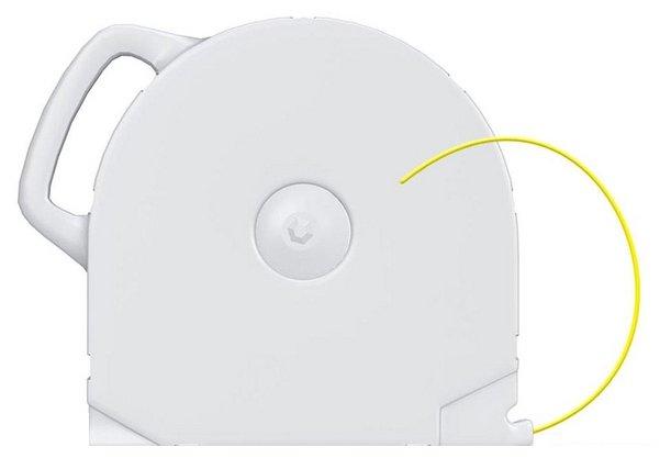ABS пруток 3D Systems CubeX 1.75 мм желтый