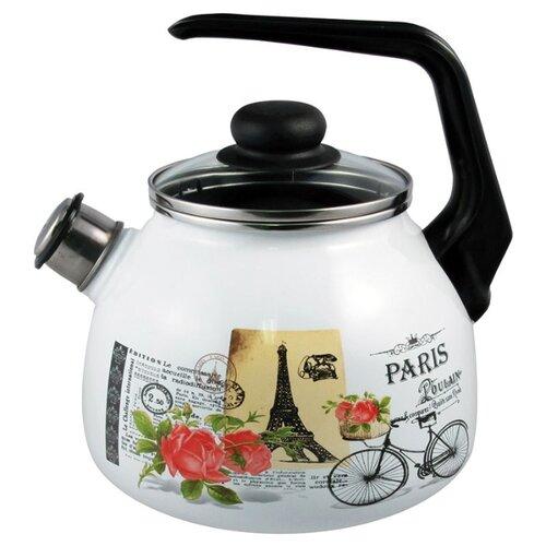Appetite Чайник со свистком 4с209я 3 л, paris