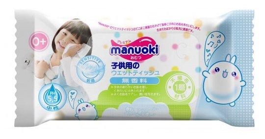 Влажные салфетки Manuoki Детские