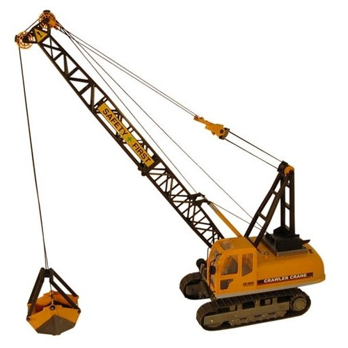 Купить Автокран Hobby Engine гусеничный (0805) 1:12 желтый, Радиоуправляемые игрушки