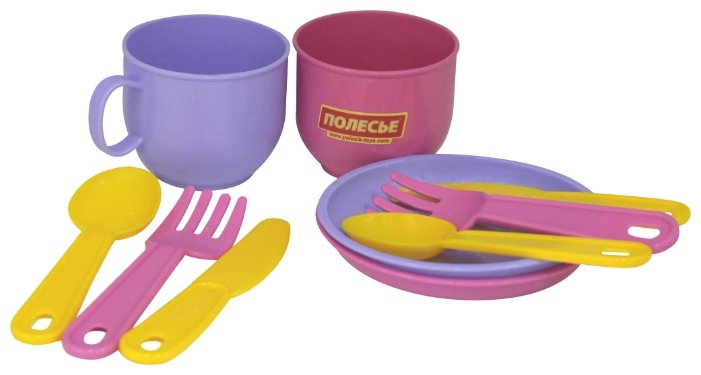 """Набор посуды Полесье """"Минутка"""" на 2 персоны 9554 фото 1"""