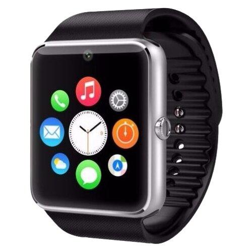 Часы CARCAM GT08 серебристый/черныйУмные часы и браслеты<br>