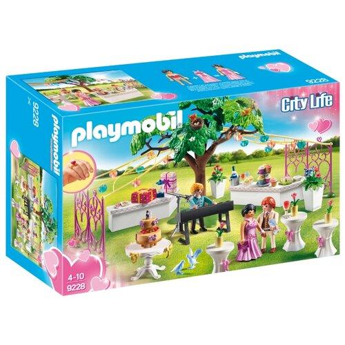 Купить Набор с элементами конструктора Playmobil City Life 9228 Свадьба, Конструкторы