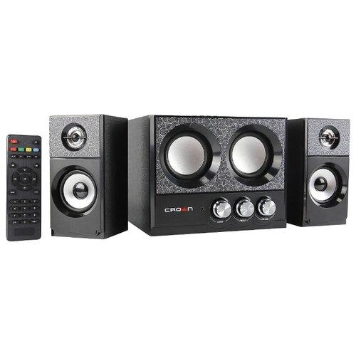 цена на Компьютерная акустика CROWN MICRO CMBS-161 черный