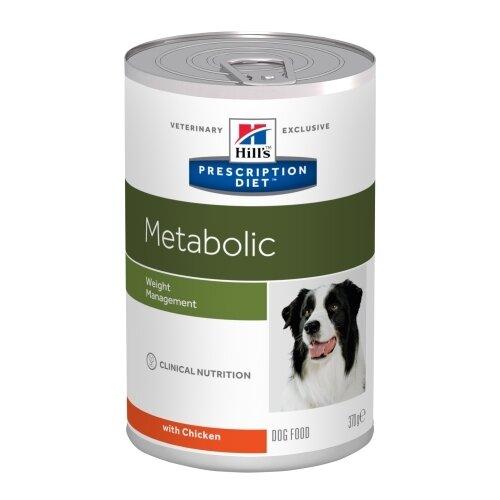 Влажный корм для собак Hill's Prescription Diet при избыточном весе, курица 12шт. х 370г