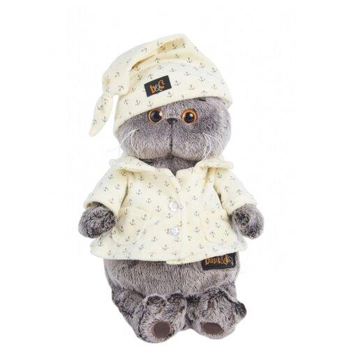 Купить Мягкая игрушка Basik&Co Кот Басик в пижаме 25 см, Мягкие игрушки