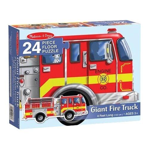 Купить Пазл Melissa & Doug Пожарная Машина (436), 24 дет., Пазлы