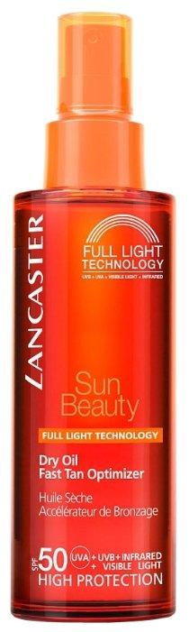 Lancaster Sun Beauty шелковистое масло быстрый загар