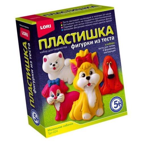 Купить Масса для лепки LORI Пластишка - Маленькие собачки (Тдл-024), Пластилин и масса для лепки