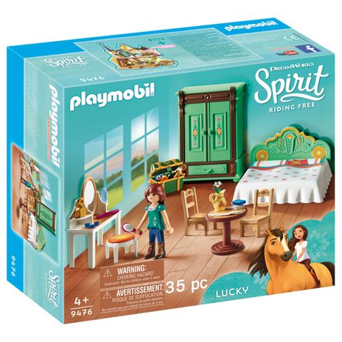 Купить Набор с элементами конструктора Playmobil Spirit Riding Free 9476 Спальня Лаки, Конструкторы