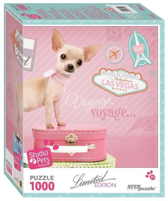 Пазл Step puzzle Limited Edition Studio Pets by Myrna Щенок (79902), 1000 дет.