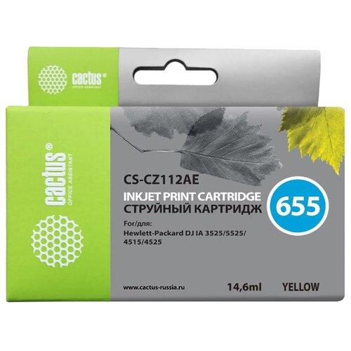 Фото - Картридж cactus CS-CZ112AE 655, совместимый картридж cactus cs tn1075