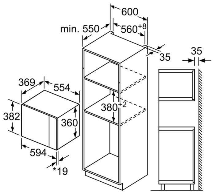Микроволновая печь Bosch BFL554MB0