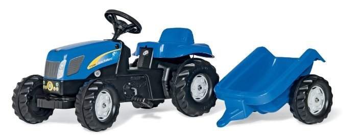 Веломобиль Rolly Toys New Holland T7040