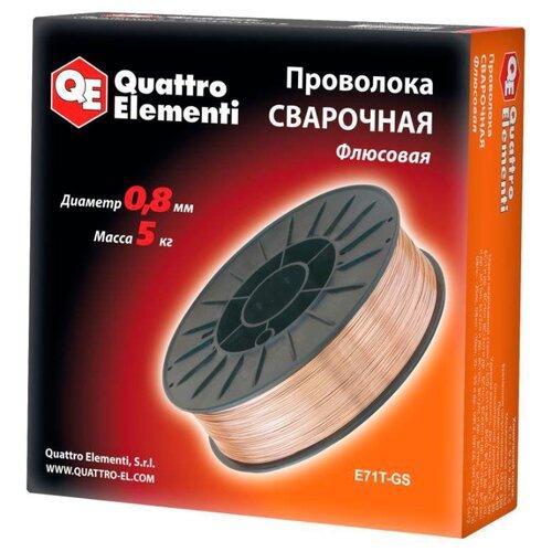 цены Проволока из металлического сплава Quattro Elementi 770-377 0.8мм 5кг