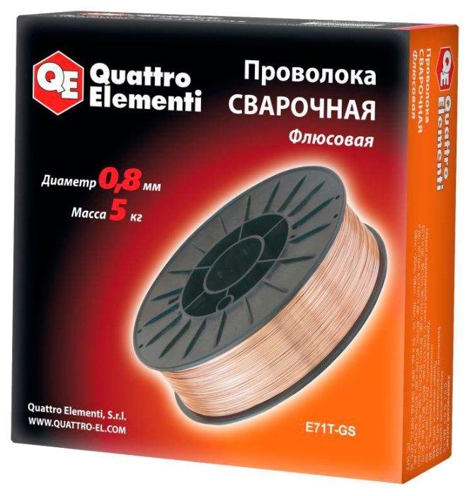 Проволока из металлического сплава Quattro Elementi 770-377 0.8мм 5кг