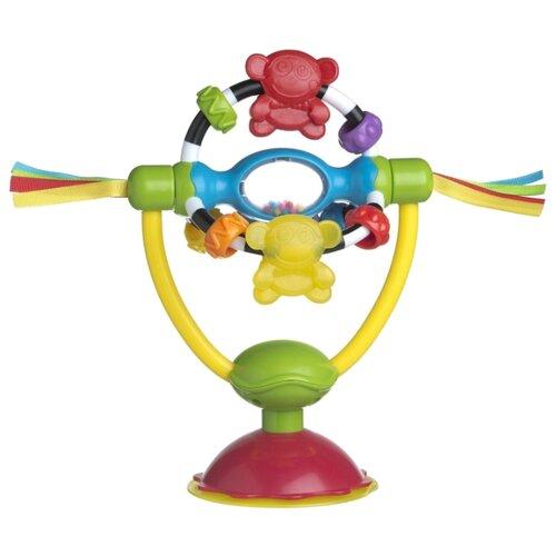 Купить Прорезыватель-погремушка Playgro High Chair Spinning Toy разноцветный, Погремушки и прорезыватели