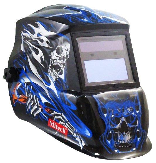 Маска Mitech Blue Skull