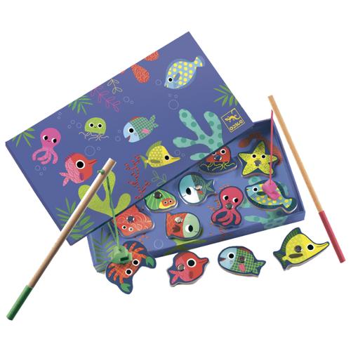 Фото - Бирюлька DJECO Рыбалка Цвета разноцветный бирюлька djeco рыбалка цвета разноцветный