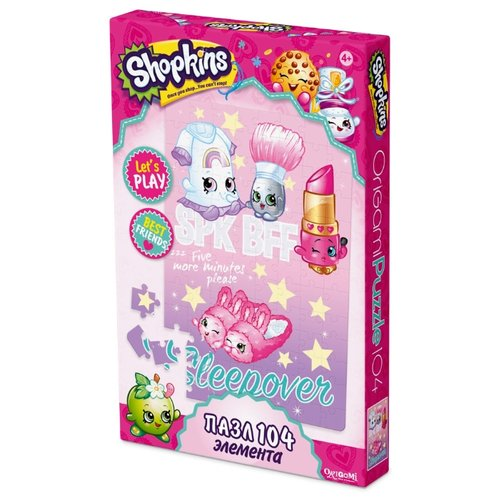 Купить Пазл Origami Shopkins Яркие подружки (02878), 104 дет., Пазлы