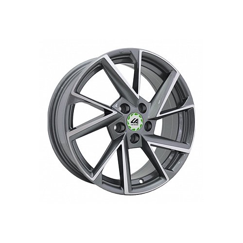 Фото - Колесный диск LegeArtis VW12-S 6.5x16/5x112 D57.1 ET50 GMF колесный диск legeartis sk75 6 5x16 5x112 d57 1 et50 s