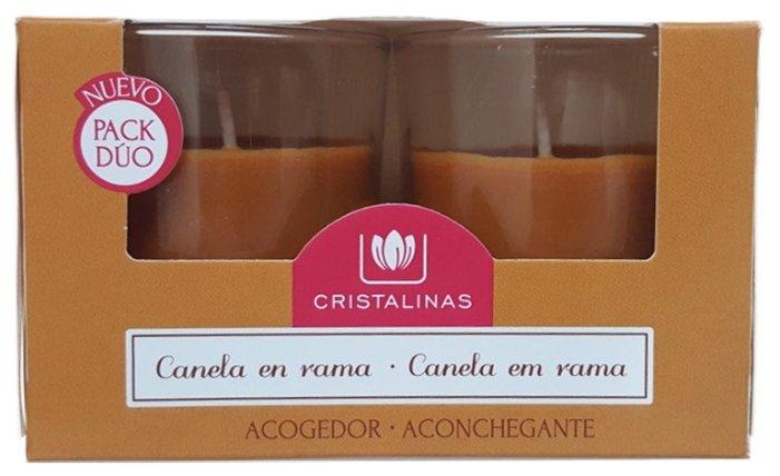 Набор свечей CRISTALINAS Корица