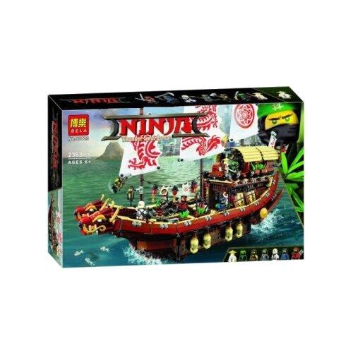 цена на Конструктор BELA (Lari) Ninja 10723 Летающий Корабль Мастера Ву