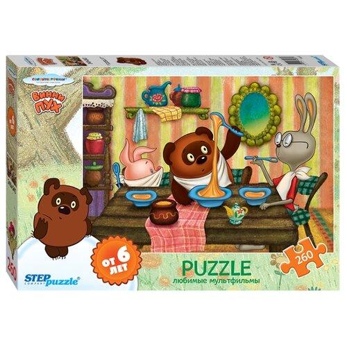 Купить Пазл Step puzzle Союзмультфильм Винни Пух (74061), элементов: 260 шт., Пазлы