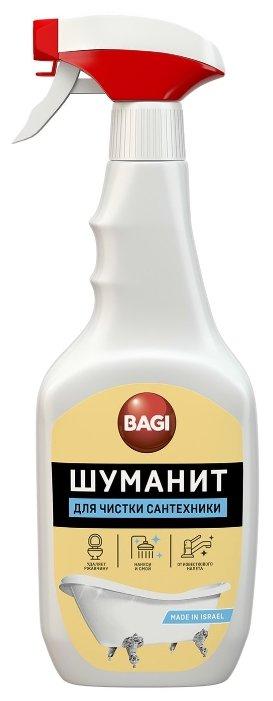 Средство для чистки сантехники Bagi Шуманит, с распылителем, BG-B-208979-0, 500 мл