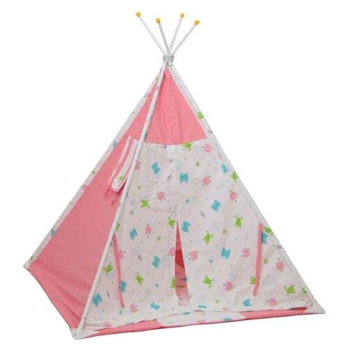 Палатка Polini Монстрики розовый