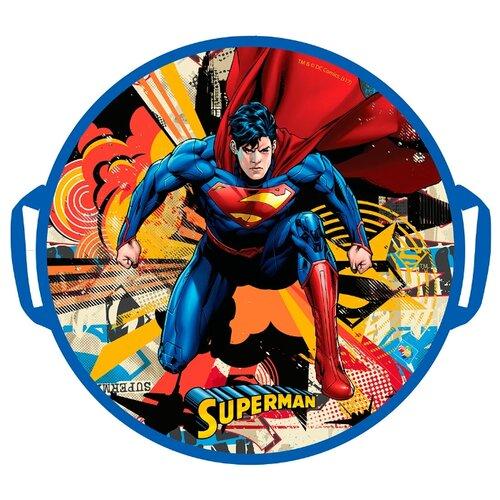 Фото - Ледянка 1 TOY Супермен (Т10461) синий/красный ледянка 1 toy человек паук т59096 красный синий