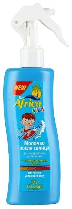 Floresan Africa kids молочко после солнца с экстрактом календулы и облепихи