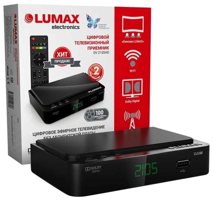 LUMAX TV-тюнер LUMAX DV-2105HD