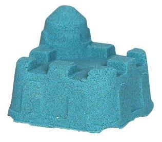 Кинетический песок ДобрБобр базовый зеленый 0.5 кг пластиковый контейнер
