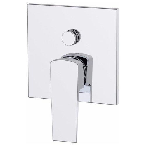 Смеситель для ванны с душем BelBagno Arlie ARL-BASM-CRM однорычажный встраиваемый хром двухпозиционный смеситель для ванны belbagno arlie arl bdm crm